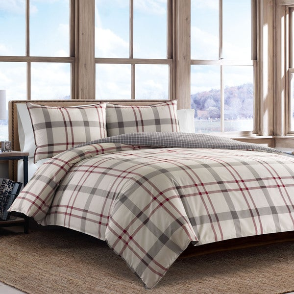 Ed Bauer Portage Bay Cotton Duvet Cover Set