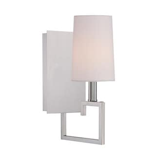 Crystorama Libby Langdon Westwood Collection 1-light Polished Nickel Wall Sconce