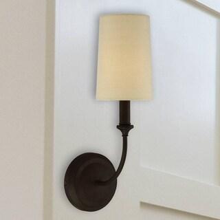 Crystorama Libby Langdon Sylvan Collection 1-light Dark Bronze Wall Sconce