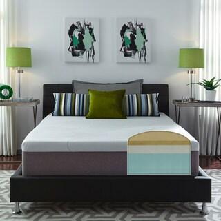 Slumber Solutions Choose Your Comfort 14-inch Cal King-size Memory Foam Mattress