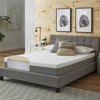 Slumber Solutions Choose Your Comfort 10-inch Cal King-size Memory Foam Mattress