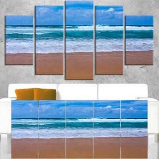 Fascinating Atlantic Beach in Portugal - Seashore Canvas Wall Art