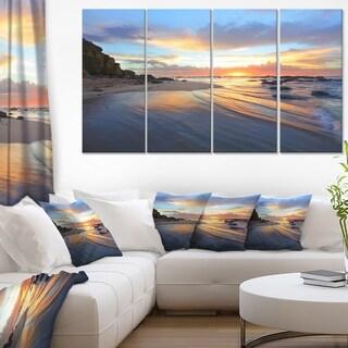 Exotic Seashore Sunrise Australia - Seashore Canvas Wall Art