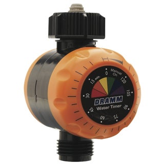 Dramm 10-15042 Orange Premium Water Timer