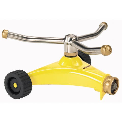 Dramm 10-15053 Yellow ColorStorm 3 Arm Whirling Sprinkler