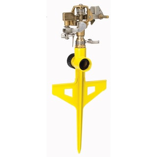 Dramm 10-15063 Yellow ColorStorm Stake Impulse Sprinkler