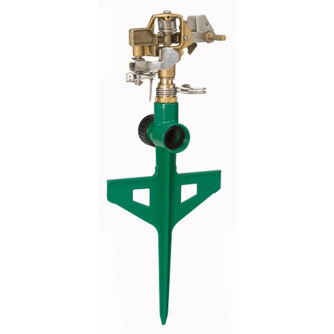 Dramm 10-15064 Green ColorStorm Stake Impulse Sprinkler