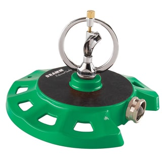 Dramm 10-15074 Green ColorStorm Spinning Sprinkler