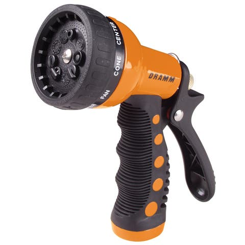 Dramm 80-12702 9 Pattern Orange Revolver Spray Gun Nozzle