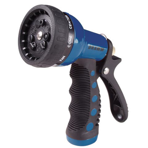 Dramm 80-12705 9 Pattern Blue Revolver Spray Gun Nozzle