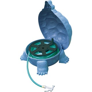Emsco Group 1561 Tortoise Garden Hose Hider With Hose Reel