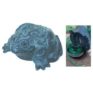 Emsco Group 1563 Frog Garden Hose Hider With Hose Reel