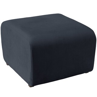 angelo:HOME Cocktail Ottoman in Mystere Eclipse