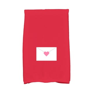 16 x 25-inch Valentine Print Kitchen Towel