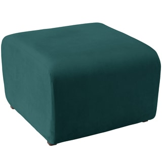 angelo:HOME Cocktail Ottoman in Mystere Peacock