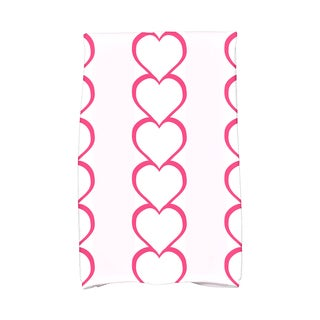 16 x 25-inch Valentine Print Kitchen Towel