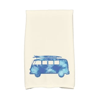 16 x 25-inch BeachDrive Geometric Print Kitchen Towel