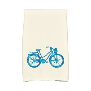 16 x 25-inch Life Cycle Geometric Print Kitchen Towel