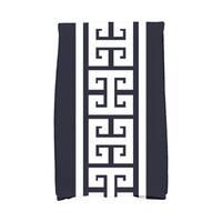 16 x 25-inch Key Stripe Stripe Print Kitchen Towel