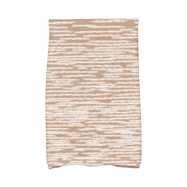 16 x 25-inch Marled Knit Geometric Print Kitchen Towel