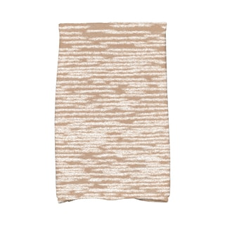 16 x 25-inch Marled Knit Geometric Print Kitchen Towel