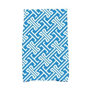 16 x 25-inch Leeward Key Geometric Print Kitchen Towel