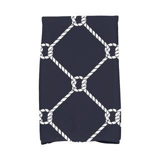 16 x 25-inch Ahoy! Geometric Print Kitchen Towel