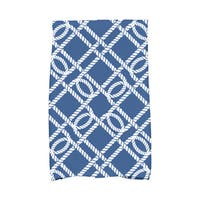 16 x 25-inch Know the Ropes Geometric Print Kitchen Towel