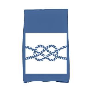16 x 25-inch Nautical Knot Geometric Print Kitchen Towel