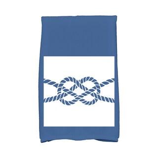 16 x 25-inch Nautical Knot Geometric Print Kitchen Towel
