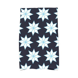 16 x 25-inch Christmas Stars 1 Holiday Geometric Print Kitchen Towel