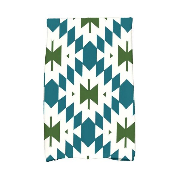 16 x 25-inch Patna Geometric Print Kitchen Towel