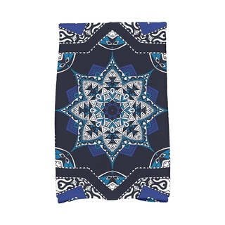 16 x 25-inch Shawl Geometric Print Kitchen Towel