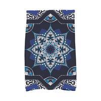 16 x 25-inch Shawl Geometric Print Kitchen Towel