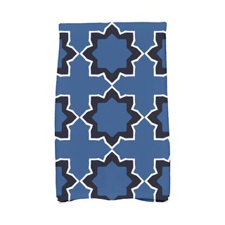 16 x 25-inch Bohemian Geometric Print Kitchen Towel