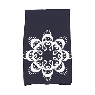 16 x 25-inch Ikat Mandala Geometric Print Kitchen Towel