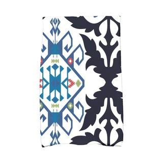 16 x 25-inch Bombay Medallion Geometric Print Kitchen Towel