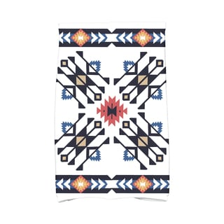 16 x 25-inch Jodhpur Border 4 Geometric Print Kitchen Towel