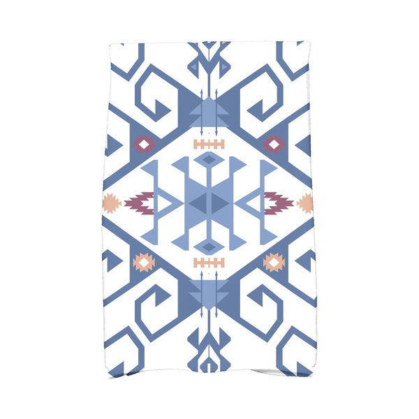 16 x 25-inch Jodhpur Medallion 2 Geometric Print Kitchen Towel