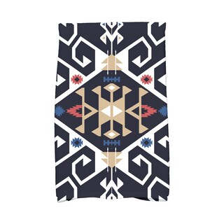 16 x 25-inch Jodhpur Medallion Geometric Print Kitchen Towel
