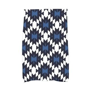 16 x 25-inch Jodhpur Kilim Geometric Print Kitchen Towel