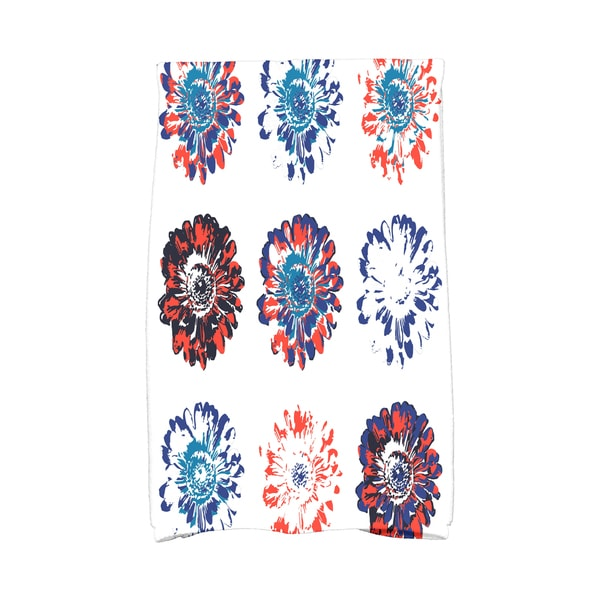 16 x 25-inch Gypsy Floral Floral Print Kitchen Towel