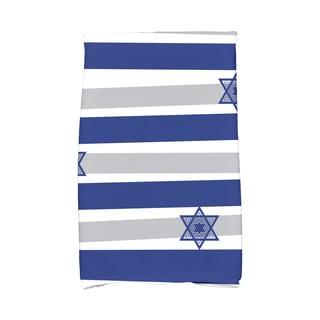 16 x 25-inch Star Stripes Holiday Stripe Print Kitchen Towel