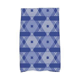 16 x 25-inch Star Light Holiday Geometric Print Kitchen Towel