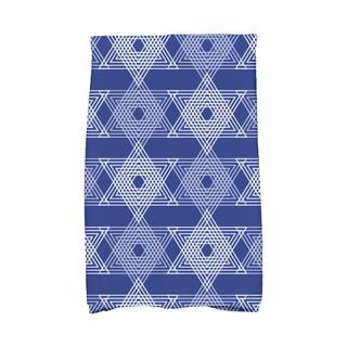 16 x 25-inch Star Light Holiday Geometric Print Kitchen Towel