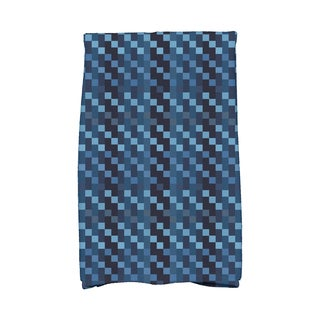 16 x 25-inch Mad for Plaid Geometric Print Kitchen Towel