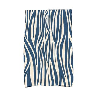 16 x 25-inch Wood Stripe Geometric Print Kitchen Towel