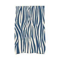 16 x 25-inch Wood Stripe Geometric Print Kitchen Towel