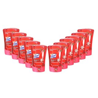 Lysol No-Touch Fresh Cranberry Delight Automatic Hand Soap Refill (Pack of 12)