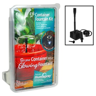 Pond Boss DCFKL Container Fountain Kit With Lights